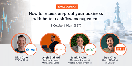 How to recession-proof your business with better cashflow management tickets