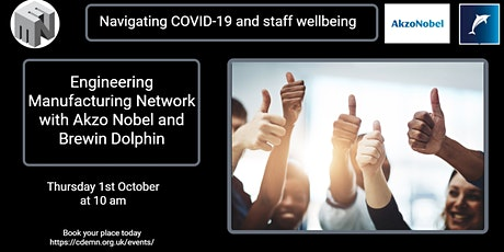 Lets talk People: Navigating  COVID-19 and staff well being tickets