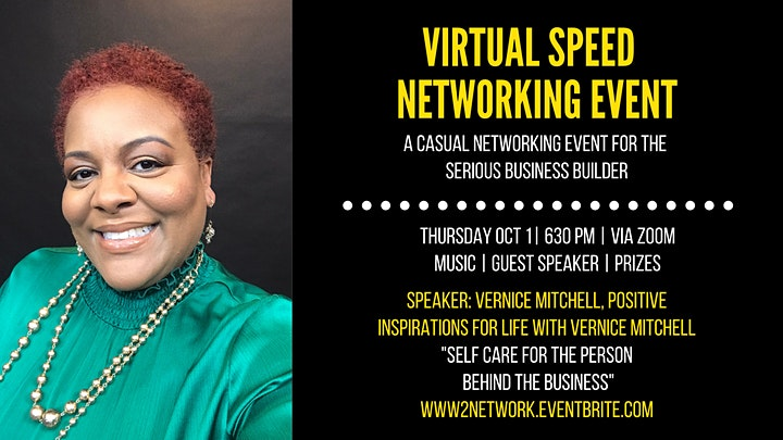 Virtual Speed Networking Event- A Witty Way to Network! image