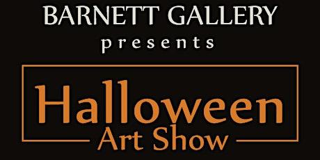Halloween Art Show at Barnett Gallery in Greenville SC tickets