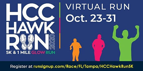 HCC Hawk Run Health and Wellness VIRTUAL Poster Contest 2020 tickets