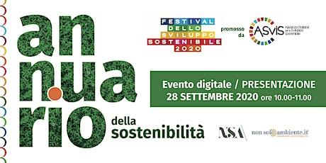 Presentazione seconda edizione dell'Annuario della Sostenibilità biglietti