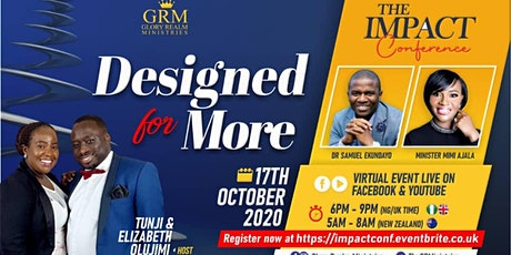The Impact Conference - Designed For More tickets