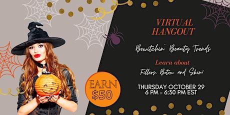 Virtual Hangout Bewitchin' Beauty Webinar - Golden Glow Medical Spa tickets