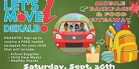 Let's Move! DeKalb Mobile Backpack & Food Giveaway tickets