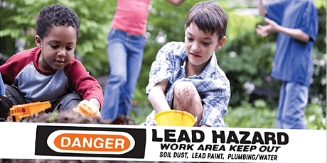 Living Safely with Lead Webinar Series tickets