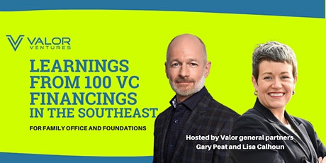 Learnings from 100 VC Financings in the Southeast tickets