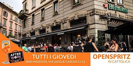 AfterWork Bar Magenta Milano Giovedì 1 Ottobre 2020 Open Spritz Party biglietti