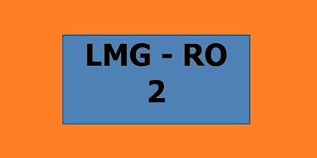 2 ottobre (mattina) LMG 2° anno - Sede di Rovigo biglietti