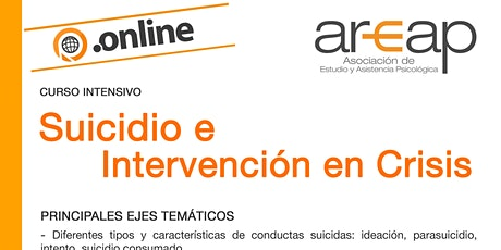 Suicidio e Intervención en Crisis ingressos
