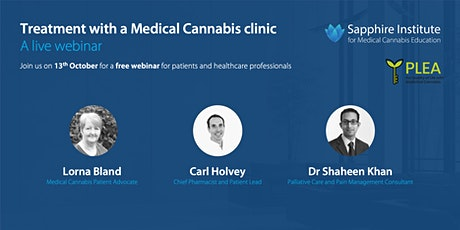 Treatment with a Medical Cannabis clinic tickets