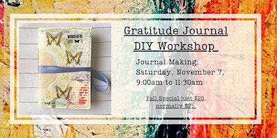 Gratitude Journal Making Workshop