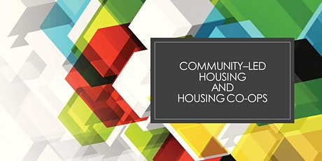 Community-led Housing and Housing Co-operatives tickets