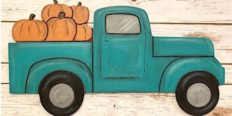Fall Pickup Truck w/ Pumpkins Workshop tickets