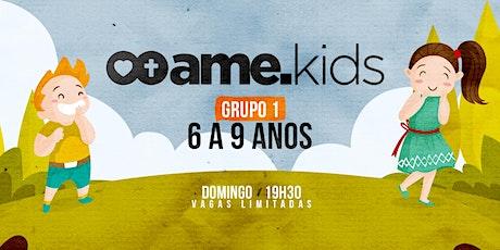 19h30 | Ame Kids - 6 a 9 anos ingressos