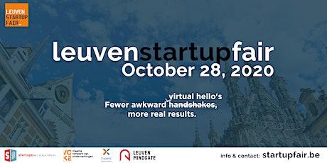 Leuven Startup Fair 2020 tickets