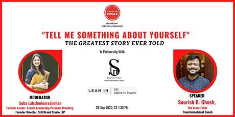 """""""Tell Me Something About Yourself"""" - The Greatest Story Ever Told tickets"""