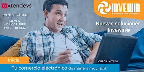 Inicia tu comercio electrónico con las nuevas soluciones Invewin entradas
