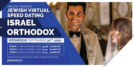 Isodate's Israel Orthodox Jewish Virtual Speed Dating tickets
