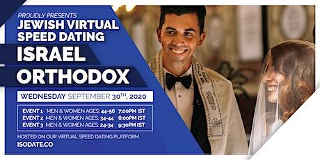 Isodate's Israel Orthodox Jewish Virtual Speed Dating tickets
