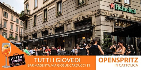 AfterWork Bar Magenta Milano Giovedì 24 Settembre 2020 Open Spritz Party tickets