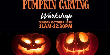 Pumpkin Carving Workshop for Families! tickets