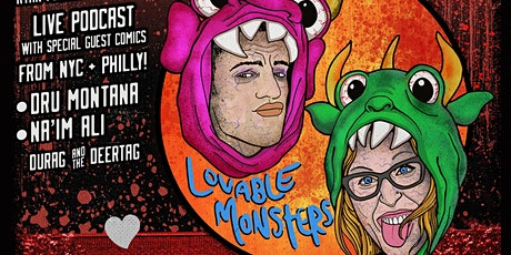 The Lovable Monsters Live Podcast and Comedy Show! tickets