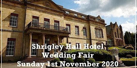 Shrigley Hall Wedding Fair tickets