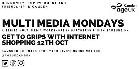 Internet Shopping-Multimedia Mondays with Age UK Camden tickets
