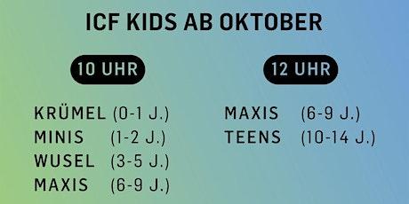 ICF Kids Celebration Tickets