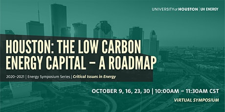 Houston: The Low Carbon Energy Capital - A Roadmap tickets