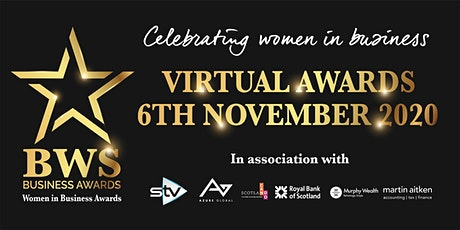 #BWSVirtualAwards - 6th November 2020 - Women in Business Awards tickets