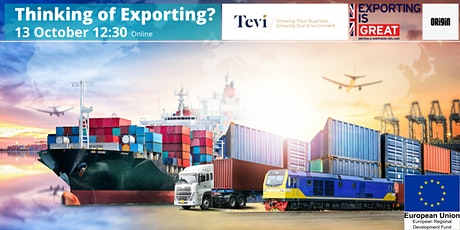 Thinking of exporting? tickets