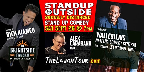 9/26  StandUp Outside! Comedy @ Brightside Jersey City tickets