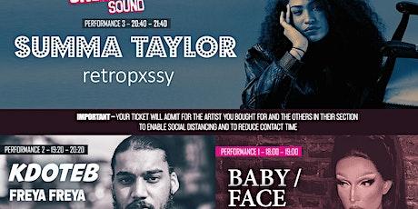 Summa Taylor, kdoteb, Baby / Face - Underground Sound Presents tickets
