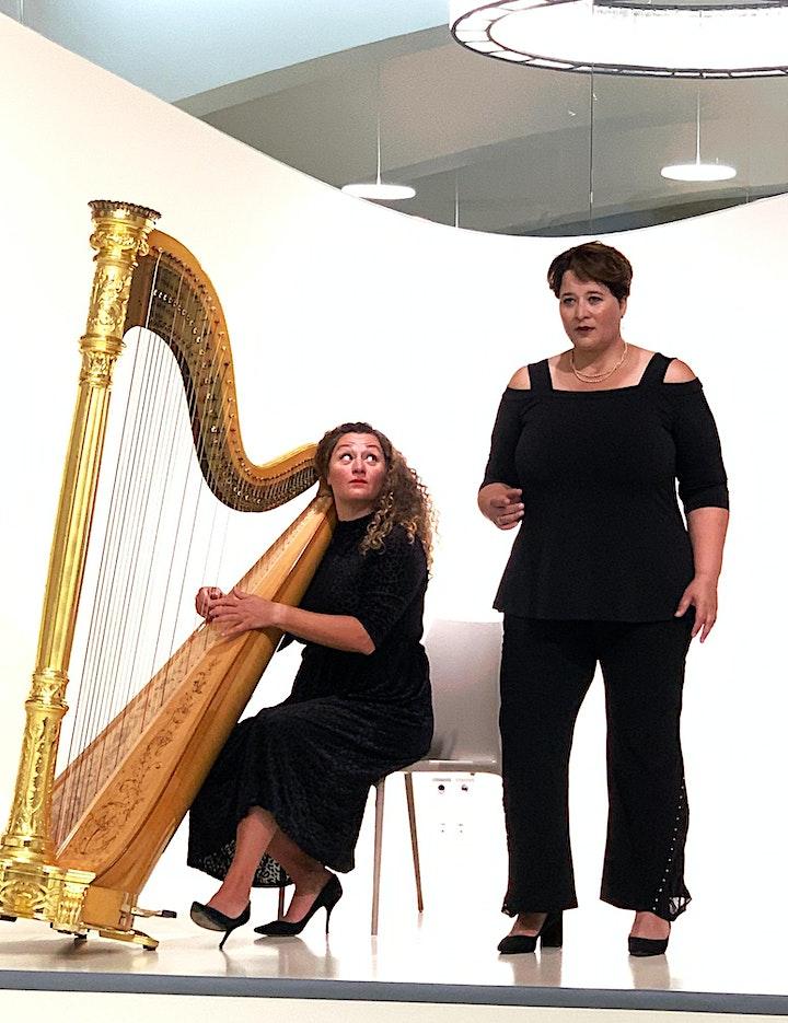 Himmlische Musik - Gesang und Harfe  -  MIT SICHERHEIT GUTE MUSIK: Bild