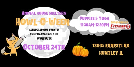 Howl-O-Ween Puppies & Yoga tickets