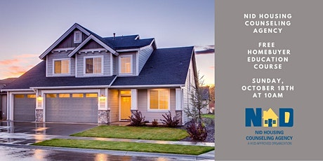 Free HUD Approved Homebuyer Education Course (Online) tickets
