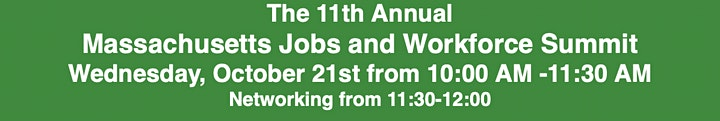The 11th Annual Massachusetts Jobs and Workforce Summit image