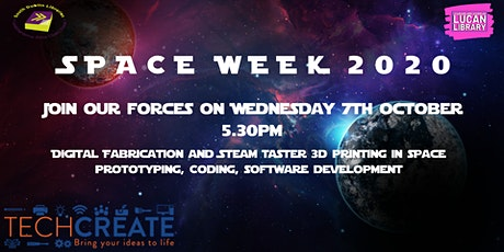 Digital Fabrication for Space Week tickets
