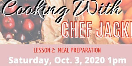 Cooking With Chef Jacki tickets