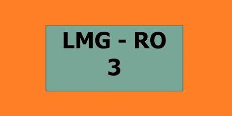 30 settembre (pomeriggio) - LMG RO 3° anno biglietti