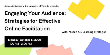 Engaging Your Audience: Strategies for Effective Online Facilitation tickets