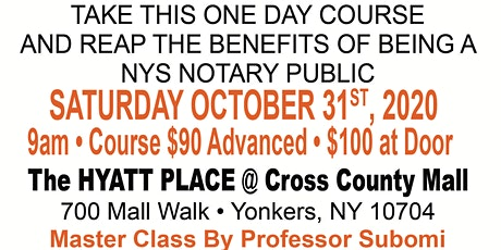 Notary Public Master Class tickets