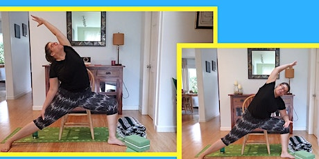 Chair Yoga. Yoga for everyBODY and everyone. Effective, Fun, and safe. tickets