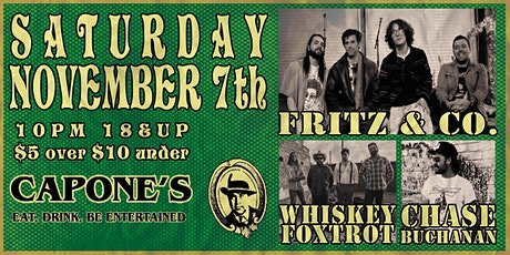 Fritz & Co. with Whiskey Foxtrot and Chase Buchanan tickets