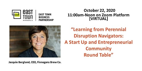 ETBP Business Forum on October 22, at 11 a.m. via Zoom tickets