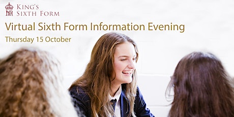 Virtual Sixth Form Information Evening tickets