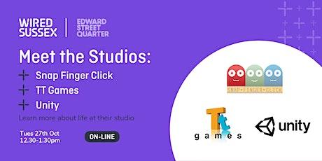 Meet The Studios: Snap Finger Click, TT Games & Unity tickets