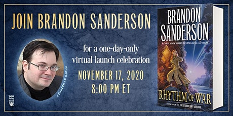 Brandon Sanderson | 'Rhythm of War' tickets